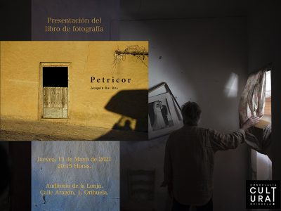 Joaquín Bas Ros presenta en Orihuela un libro de fotografía titulado 'Petricor'
