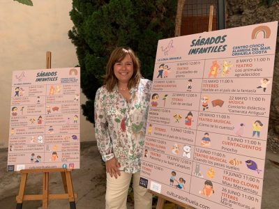 Cultura de Orihuela ofrece actividades infantiles gratuitas los sábados