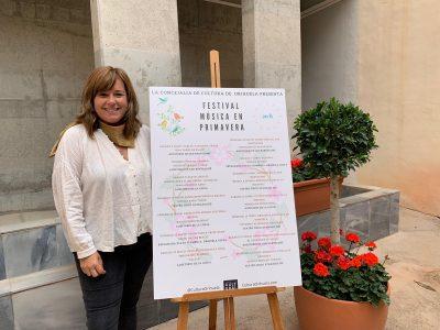 Cultura de Orihuela presenta el Festival 'Música en Primavera'