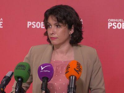 El PSOE de Orihuela apoyará la modificación presupuestaria propuesta por el PP