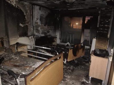 La residencia de ancianos de Torrevieja sufre un incendio en una de sus habitaciones
