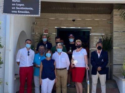 Rafal retoma el campeonato de golf 'Virgen del Rosario'