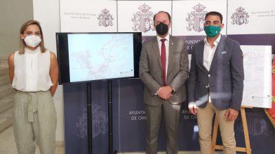 Orihuela ha presentado esta mañana el Proyecto de Itinerario Ciclista Preferente en el Monte de San Miguel