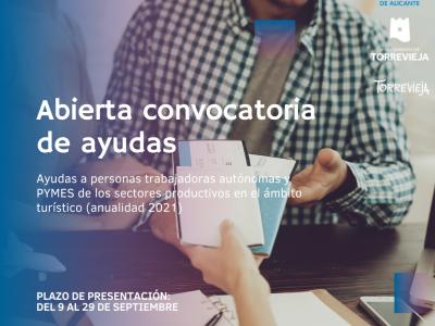 Diputación destina 281.664 euros a Torrevieja para ayudas a sectores turísticos