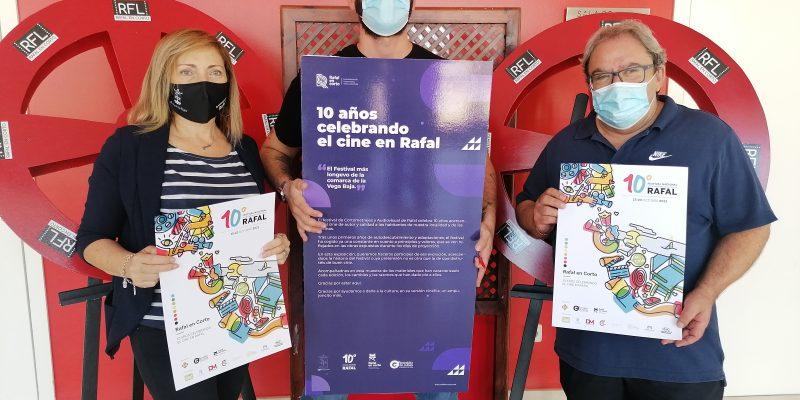 Presentan la décima edición del certamen de cortometrajes 'Rafal en corto'