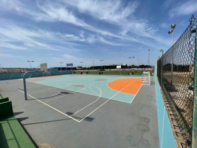 Torrevieja repara la pista 'La Mosquiera' de la Ciudad Deportiva