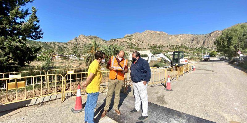 Comienzan las obras de la red de agua potable en Raiguero de Bonanza