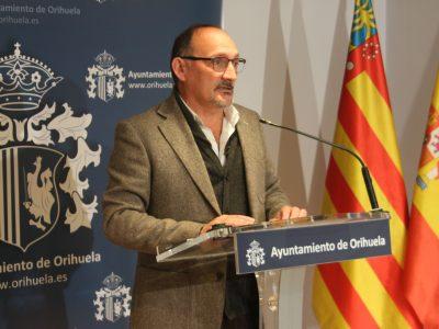 El grupo popular de Orihuela advierte a Cs que no acepta chantajes de nadie. Rafael Almagro