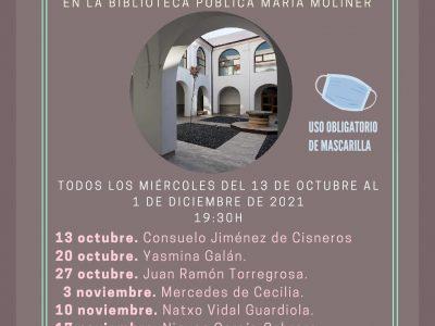 Consuelo Jiménez de Cisneros inaugura el VII Ciclo de 'Encuentros con la Poesía'