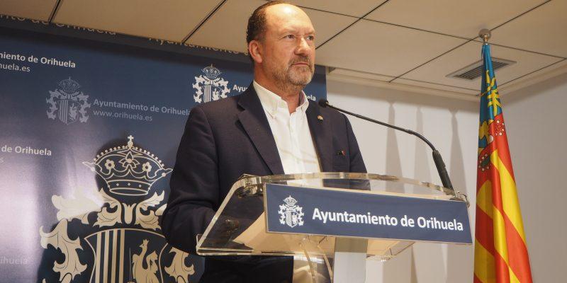 Orihuela presentará su proyecto de presupuesto de 2021 en JGL extraordinaria