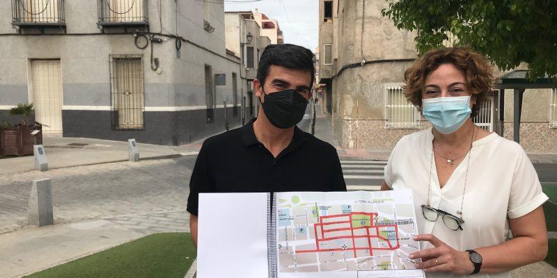 Bigastro proyecta fomentar el comercio con la peatonalización del centro