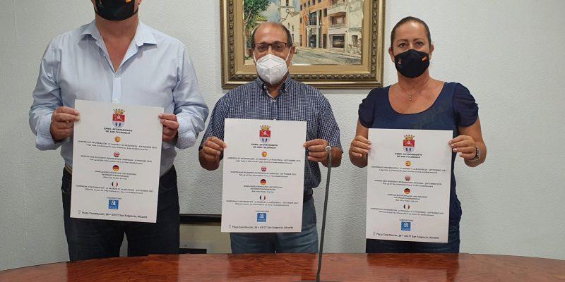 San Fulgencio inicia una campaña de información sobre el padrón municipal