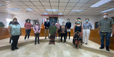 Toman posesión los 10 alumnos del taller de empleo 'Vides de la Mata'